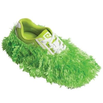 Fuzzy Shoe Cover Limette Schuhüberzieher