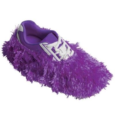 Fuzzy Shoe Cover Lila Schuhüberzieher