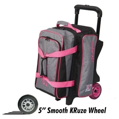 KRush - Double Roller - Grau/Pink