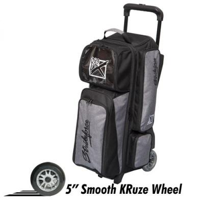 Krush 3 Ball Triple Roller Grau/Schwarz