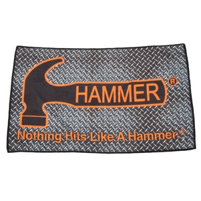 Hammer Dye Sub Mikrofaser Handtuch Diamond Plate
