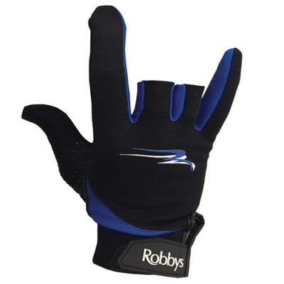 Thumb Saver Handschuh Schwarz/Blau