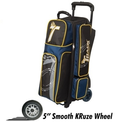 Premium 3 Ball Roller Schwarz/Navy/Gelb