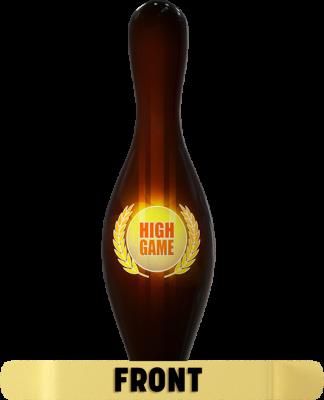 Pin Awards High Game Black