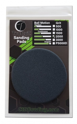 TruCut Sanding Pad 2000 Grit