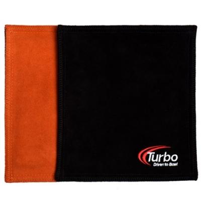 Dry Towel - Shammy - Leder - Orange/Schwarz
