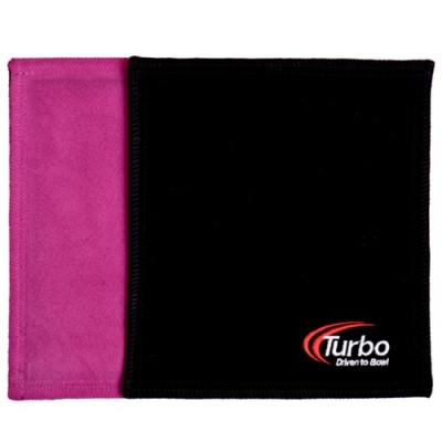 Dry Towel - Shammy - Leder - Pink/Schwarz