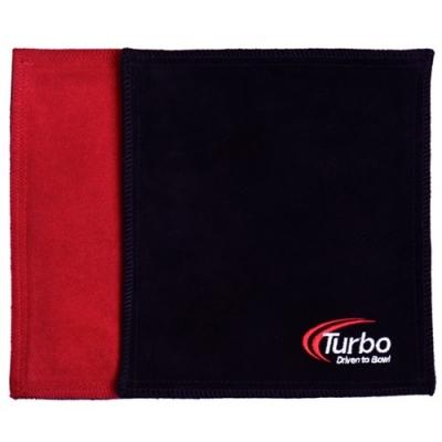 Dry Towel - Shammy - Leder - Rot/Schwarz