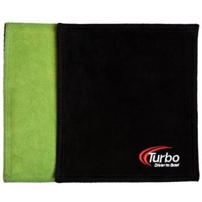 Dry Towel - Shammy - Leder - Limette/Schwarz