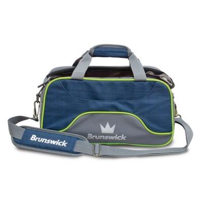 Crown Deluxe 2 Ball Tasche Blau/Grün