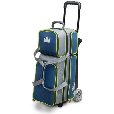 Crown Deluxe 3 Ball Roller Blau/Grün