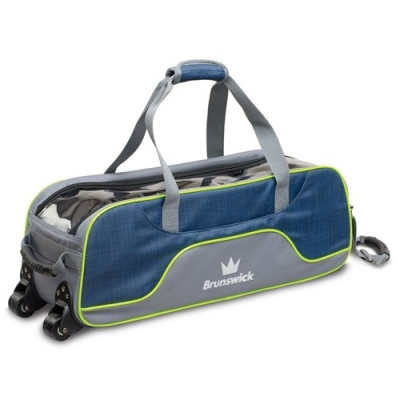 Crown Deluxe - Triple Tote - Blau/Gelb
