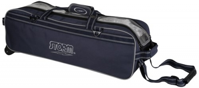 3 Ball Tournament Tasche Roller Blau