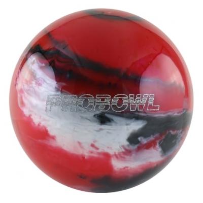 Pro Bowl - Rot/Schwarz/Silber