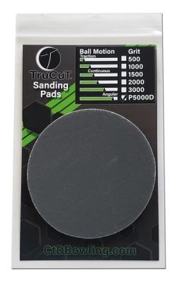 TruCut - Schleifpad - P5000D Grit - 1 Stück