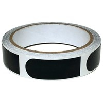 Tape - 3/4 Inch - 1 Rolle á 100 Stück - Schwarz