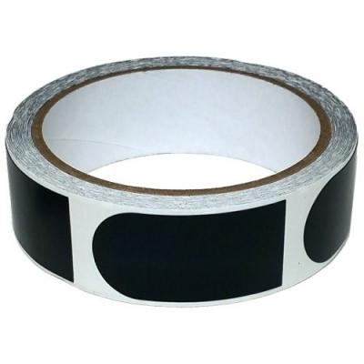 Tape - 1 Inch - 1 Rolle á 100 Stück - Schwarz