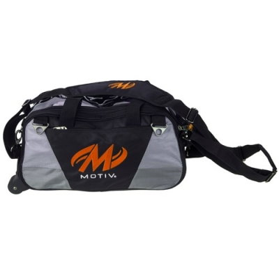 Ballistix - Double Tote/Roller - Schwarz/Orange