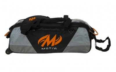 Ballistix - Triple Tote - Schwarz/Orange