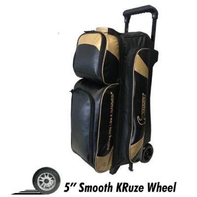 Premium SE - Triple Roller - Schwarz/Gold