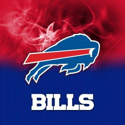 NFL Buffalo Bills - Dye Sub - Handtuch - Mikrofaser