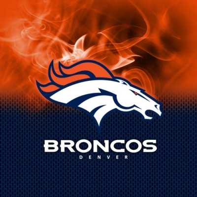 NFL Denver Broncos - Dye Sub - Handtuch - Mikrofaser