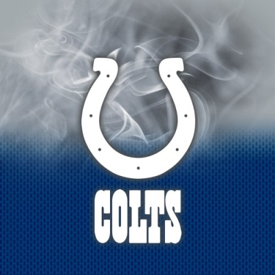 NFL Indianapolis Colts - Dye Sub - Handtuch - Mikrofaser