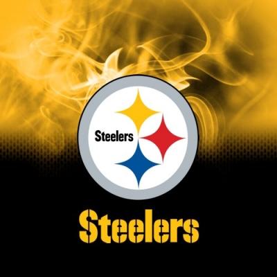 NFL Pittsburgh Steelers - Dye Sub - Handtuch - Mikrofaser