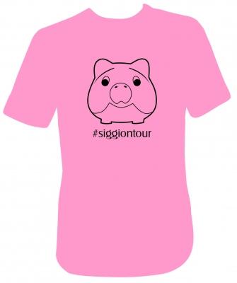 Siggi Phrasenschwein T-Shirt Rosa