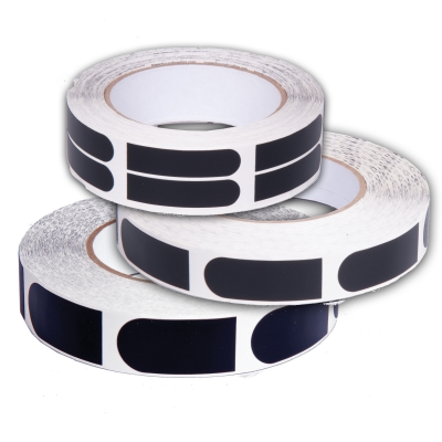 Ultra Grip - Tape - 3/4 Inch - 1 Rolle á 100 Stück - Schwarz
