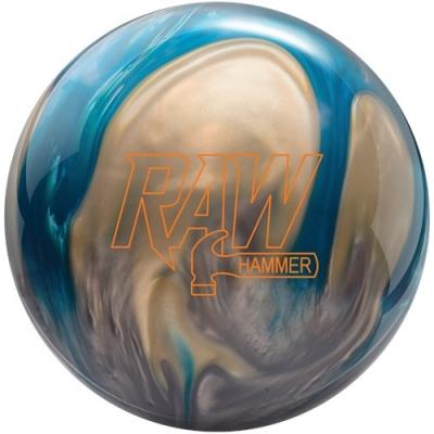Raw - Pearl - Blau/Silber/Weiß