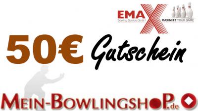 Mein-Bowlingshop.de - Gutschein - 50€