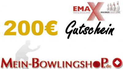 Mein-Bowlingshop.de - Gutschein - 200€