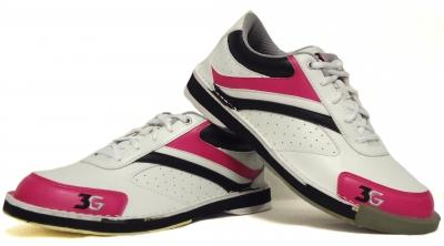 Classic Pro Weiß/Pink/Schwarz nur für Rechtshänder